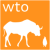 logo W.T.O gnu/linux Orange
